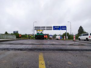 Oprava mostu v ulici Generála Píky (I/34), České Budějovice. Pramen: ŘSD