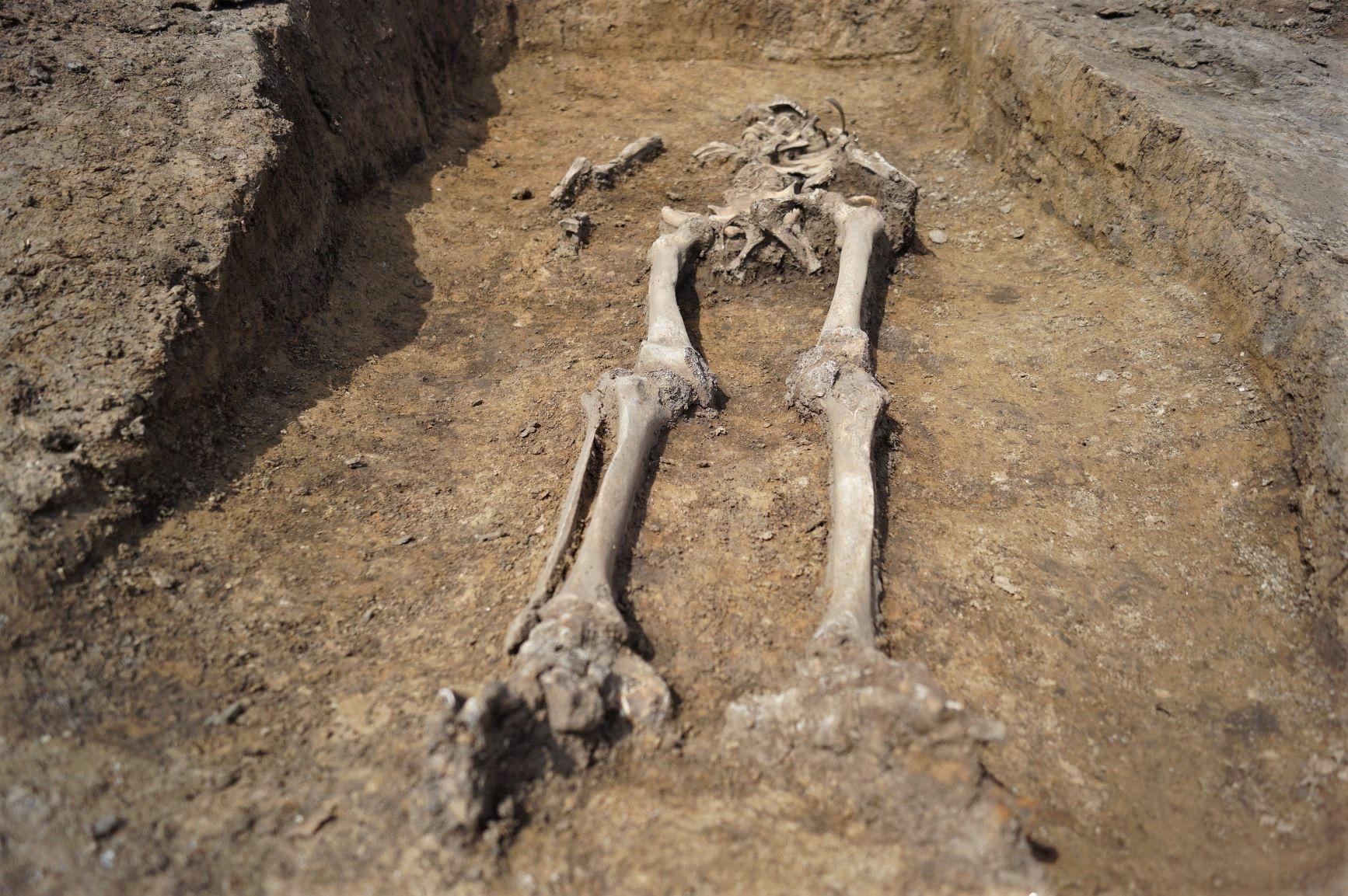 Hrob z 9. století. Pramen: ŘSD