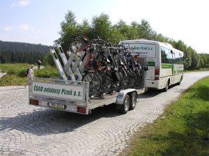 Chodský cyklobus. Foto: Z Group bus