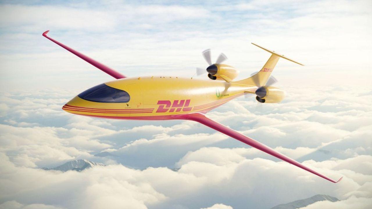 Elektrické letadlo Alice eCargo. Foto: DHL Express
