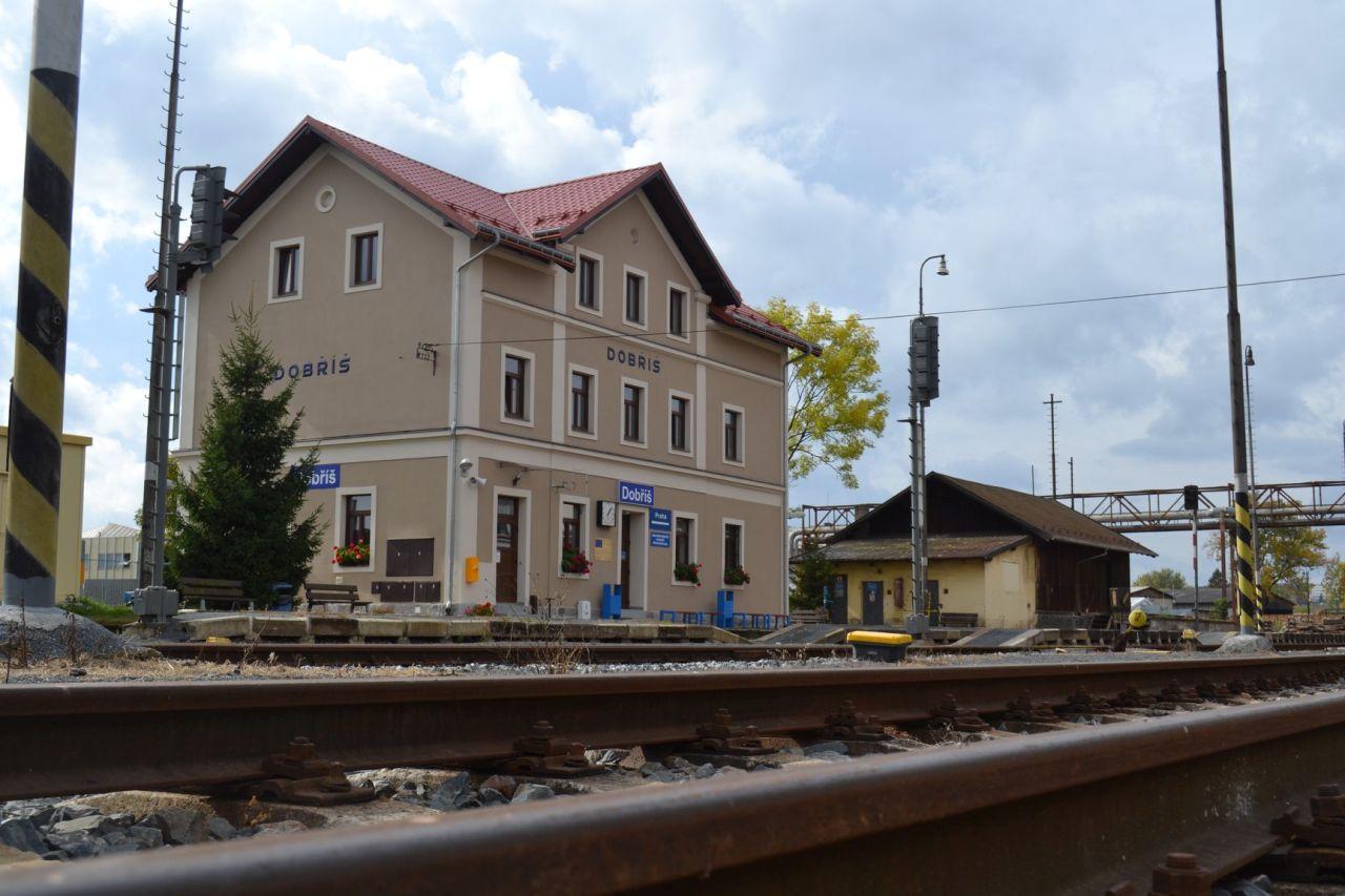 Stanice Dobříš. Foto: Městský úřad Dobříš