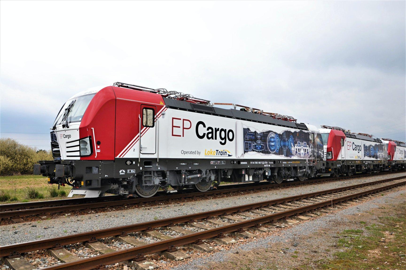 Siemens Vectron společnosti EP Cargo. Foto: EP Cargo