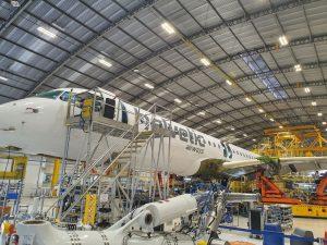 Embraer E-Jet E2. Foto: Helvetic Airways