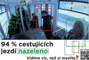 Kampaň DPO k jízdě s platným dokladem. Foto: DPO