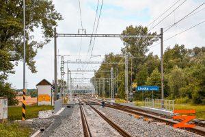 Modernizace trati Hustopeče nad Bečvou - Valašské Meziříčí. Foto: Správa železnic