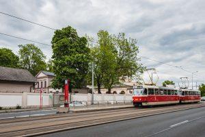 Ulice Jana Želivského v Praze. Foto: Pražská integrovaná doprava