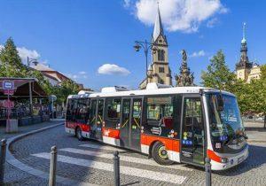 Elektrobus SOR EBN 11,1 v Kladně. Foto: mestokladno.cz
