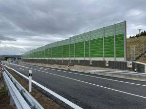 Nová dálnice D6 u Lubence. Foto: ŘSD