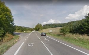 Křižovatka na silnici I/43 u Milonic. Foto: Google Street View