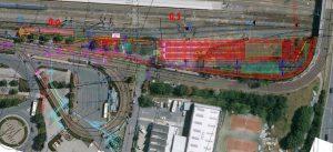 Plán nové haly pro odstav tramvají v Olomouci. Mapa: Sudop Brno