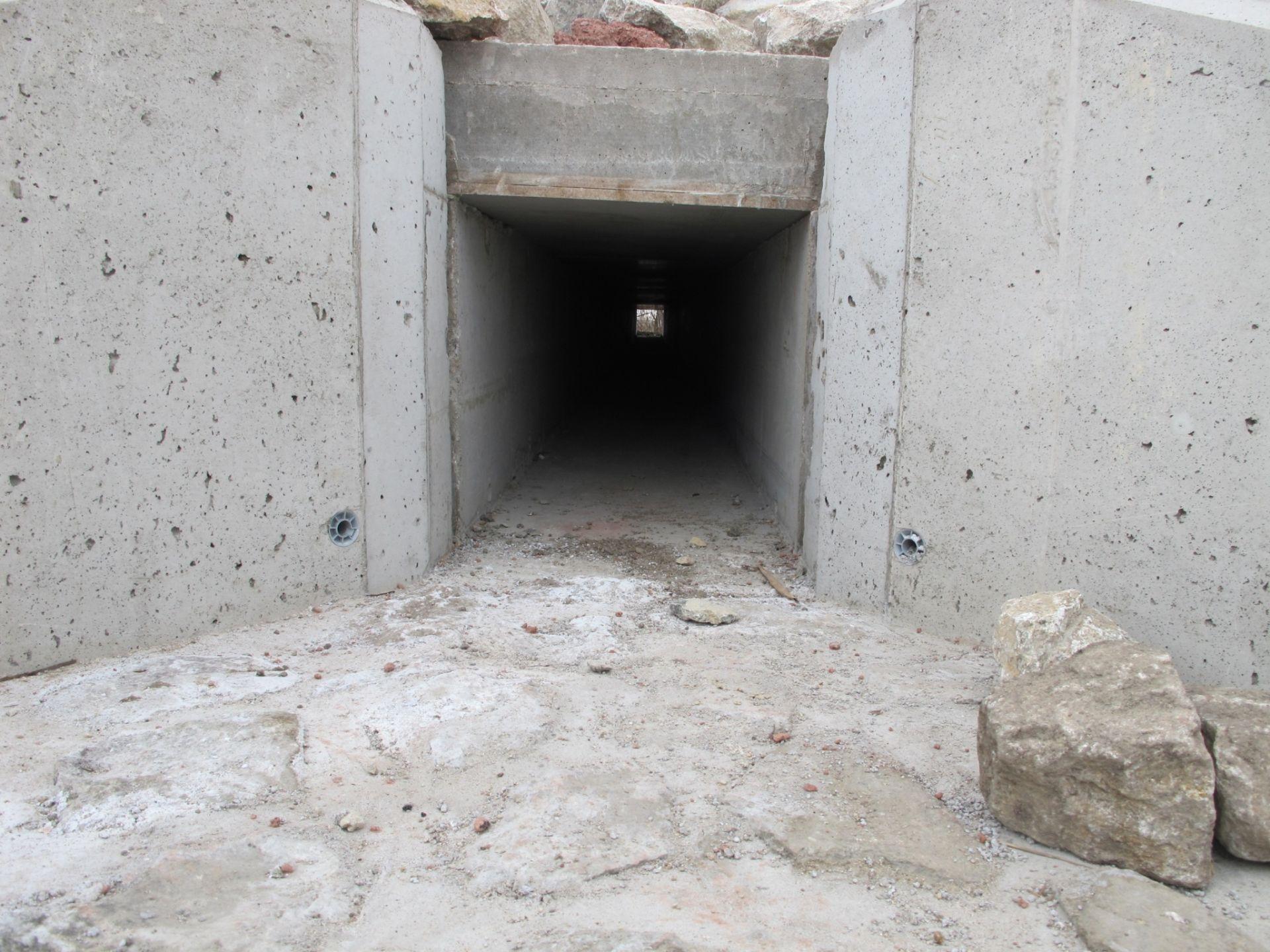 Propustek pod silnicí I/52 na Nových Mlýnech. Pramen: Jihomoravský kraj