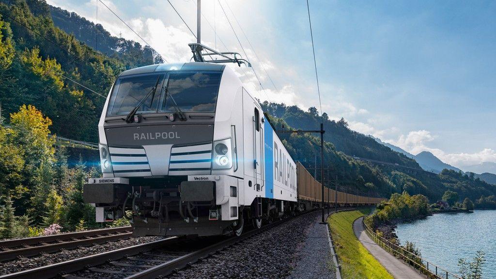Vectron společnosti Railpool. Pramen: Siemens