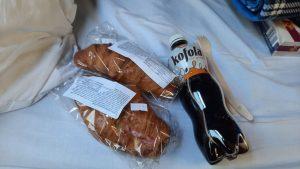 Občerstvení ve vlaku. Foto: Aleš Petrovský