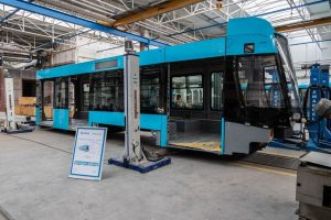 Nová tramvaj 39T pro Ostravu. Foto: Škoda Transportation