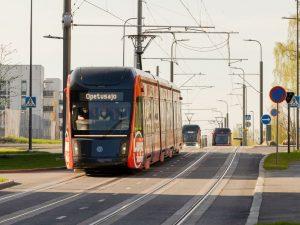 Tramvaje v Tampere. Foto: Tampereen Ratikka