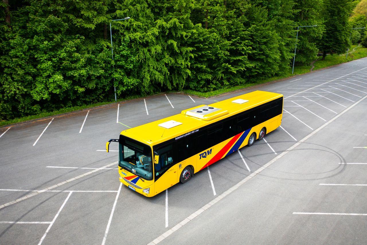 Autobus Iveco Crossway společnosti TQM - Holding. Foto: TQM
