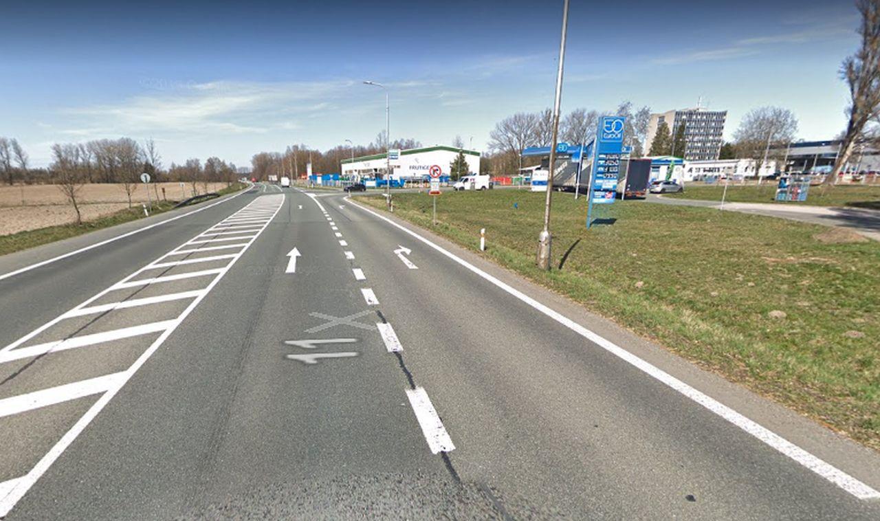 Obchvat Týniště nad Orlicí. Foto: Google Street View