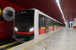 Nové metro Varsovia od Škody. Foto: Metro Warszawskie