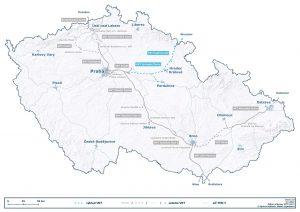 Trasa budoucí vysokorychlostní tratě RS5 do Polska. Foto: Správa železnic