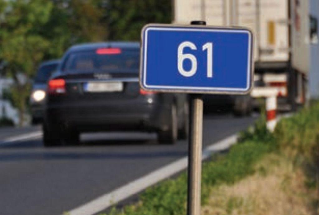 Silnice I/61, ilustrační foto. Pramen: ŘSD
