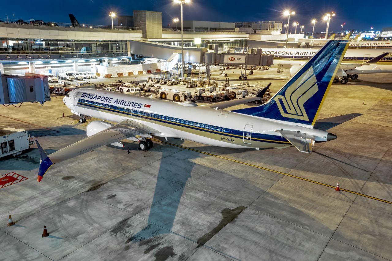 Boeing 737 MAX 8 v barvách Singapore Airlines. Foto: FB / Dillon Chong
