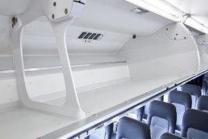 Nový interiér Airspace v letadlech Lufthansy. Foto: LH