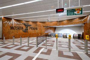 Vestibul Na Knížecí ve stanici Anděl po rekonstrukci. Foto: Petr Hejna / DPP