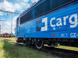 Lokomotiva s ETCS. Pramen: ČD - Telematika