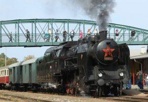 Parní lokomotiva 534.0323 Kremák. Pramen: České dráhy