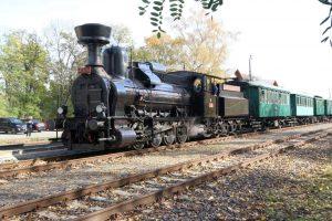 Parní lokomotiva Heligon. Foto: ČD