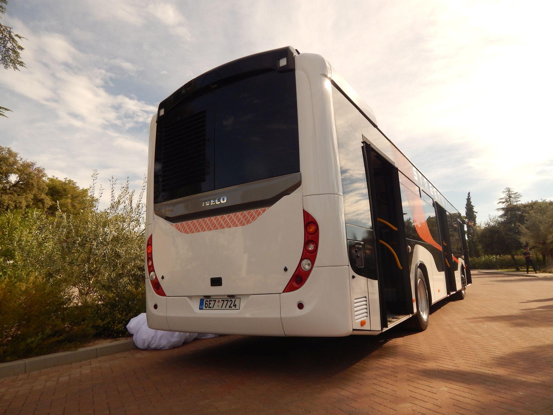 Městský autobus Iveco Streetway. Autor: Zdopravy.cz/Jan Šindelář