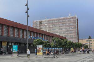 Pardubice hlavní nádraží. Pramen: Správa železnic