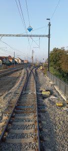 Pomalá jízda neplatící pro vlaky. Autor: Antonín Sehnal