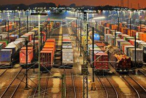 Seřaďovací nádraží. Pramen: Siemens