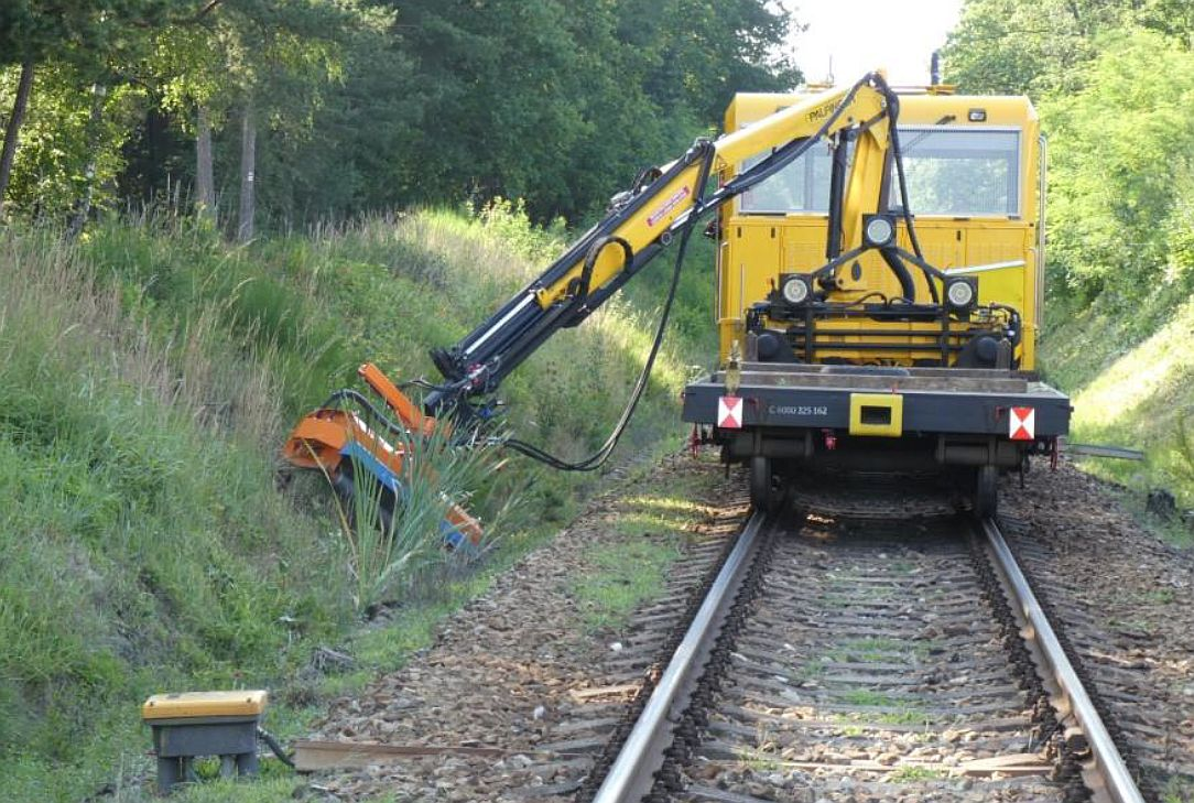 Trať 226 Veselí nad Lužnicí - České Velenice. Pramen: Správa železnic/dokumentace EIA