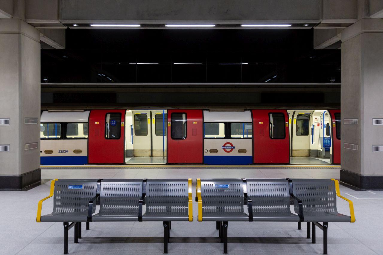 Nová stanice metra Nine Elms. Foto: Transport for London