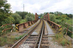 Místo, kde vypadl průvodčí z vlaku. Foto: Policie ČR