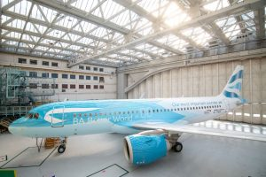 A320neo v nátěru British Airways upozorňujícím na udržitelnost létání. Foto: BA