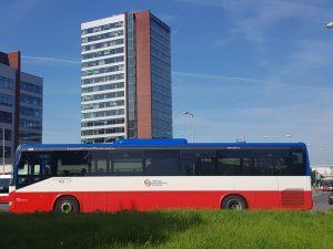 Autobusové nádraží v Nových Butovicích. Foto: Jan Sůra / Zdopravy.cz