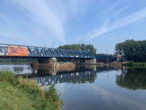 Nový most v Čelákovicích. Pramen: Správa železnic
