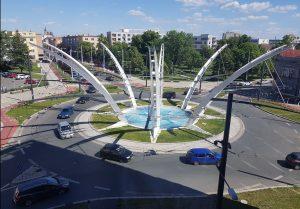 Křižovatka v Hradci Králové. Foto: Cross Zlín