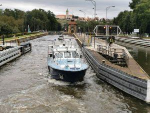 Plavební komora Hořín. Pramen: ŘVC