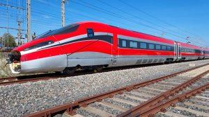 Vysokorychlostní jednotka ETR 1000 ve Španělsku. Foto: ILSA