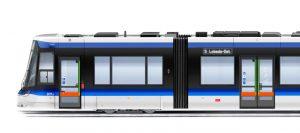 Podoba nové tramvaje Tramlink od Stadleru pro Jenu. Foto: Jena Stadtwerke