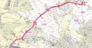 Mapa obchvatu Jílového u Prahy. Foto: Středočeský kraj