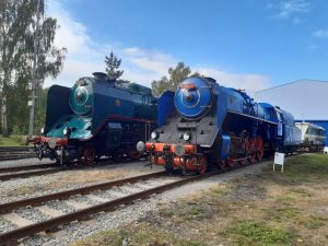 Den železnice 2021 v Lužné. Foto: Petr Šťáhlavský