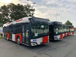 Midibusy Solaris Urbino 10 pro DPP. Autor: Daniel Šabík/DPP