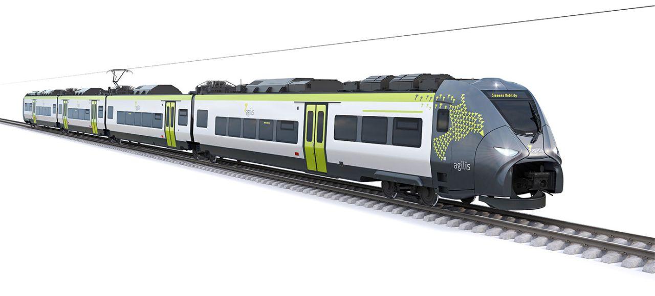 Jednotky Siemens Mireo pro dopravce agilis. Foto: Siemens