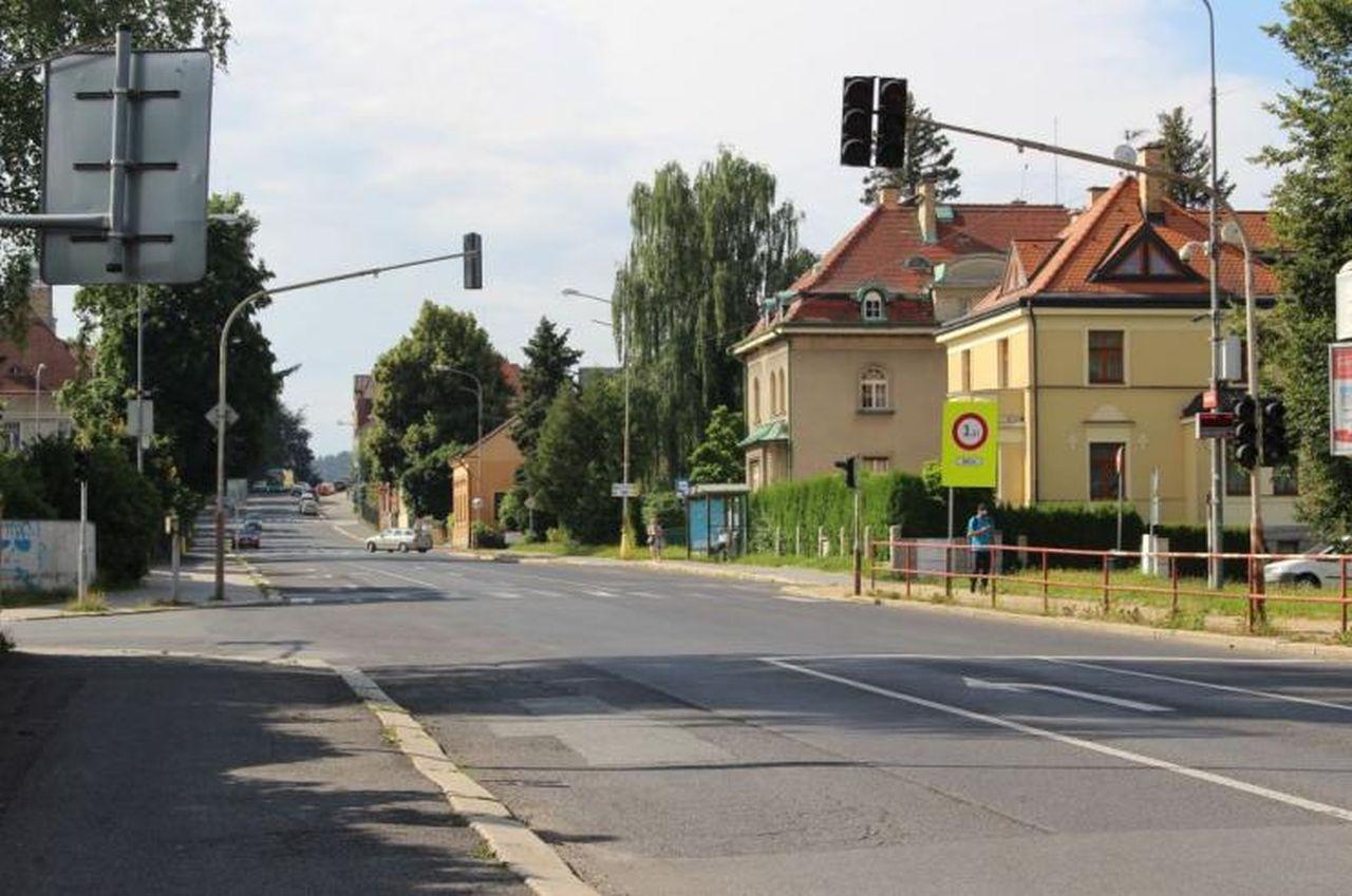 Palackého ulice v Jablonci nad Nisou. Foto: Magistrát města Jablonce nad Nisou