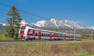 Jednotka Panter na trati pod Tatrami. Foto:ZSSK